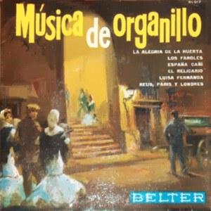 Música de Organillo - Belter51.017