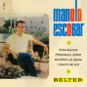 Escobar, Manolo - Belter51.260