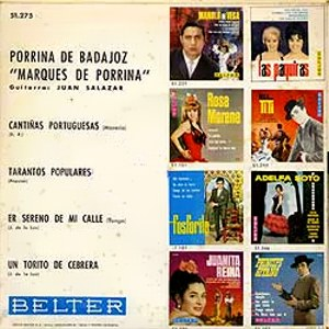 Porrina De Badajoz - Belter51.275
