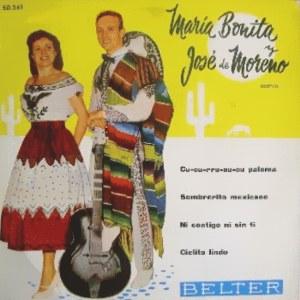 María Bonita Y José De Moreno - Belter50.261