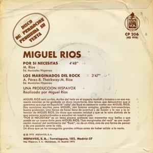 Miguel Ríos - HispavoxHS 998