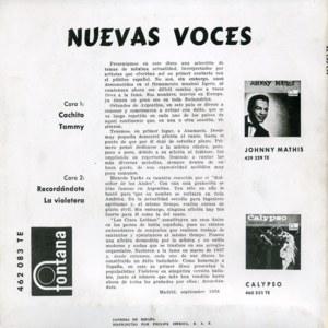 Varios - Pop Español 60' - Fontana462 083 TE