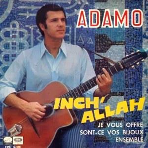 Adamo - La Voz De Su Amo (EMI)EPL 14.338