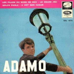 Adamo - La Voz De Su Amo (EMI)7EPL 14.116