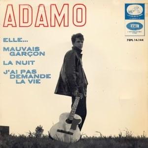 Adamo - La Voz De Su Amo (EMI)7EPL 14.144