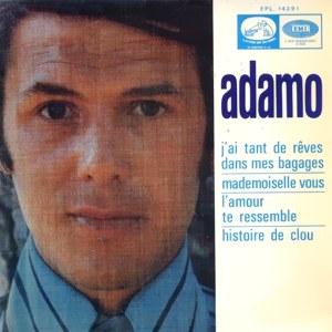 Adamo - La Voz De Su Amo (EMI)EPL 14.391