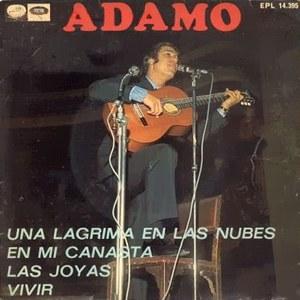 Adamo - La Voz De Su Amo (EMI)EPL 14.395