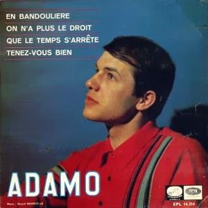 Adamo - La Voz De Su Amo (EMI)EPL 14.314