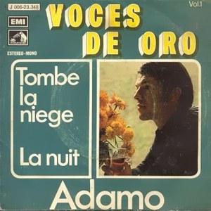 Adamo - La Voz De Su Amo (EMI)J 006-23.348