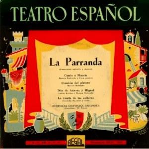 Teatro Español - Regal (EMI)SEBL 7.016