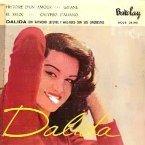 Dalida - ColumbiaBCGE 28105