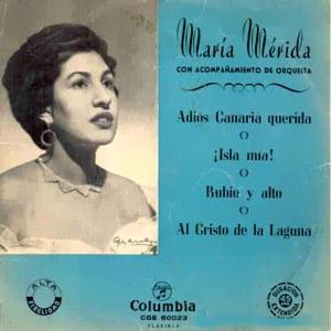Mérida, María - ColumbiaCGE 60023