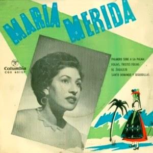 Mérida, María - ColumbiaCGE 60157