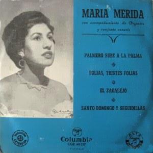 María Mérida - ColumbiaCGE 60157