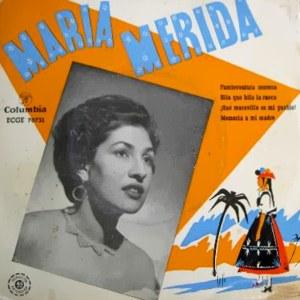 Mérida, María - ColumbiaECGE 70731