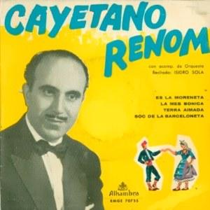 Renom, Cayetano