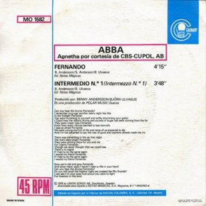Abba - ColumbiaMO 1582