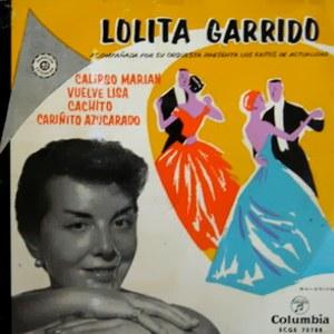 Garrido, Lolita - ColumbiaECGE 70788