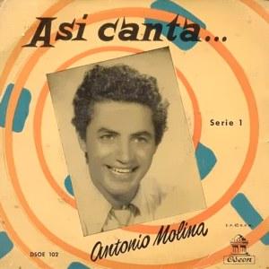 Molina, Antonio - Odeon (EMI)DSOE 102