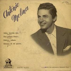 Molina, Antonio - Odeon (EMI)DSOE 16.012