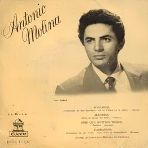 Molina, Antonio - Odeon (EMI)DSOE 16.100