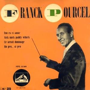Pourcel, Franck - La Voz De Su Amo (EMI)7EPL 13.262