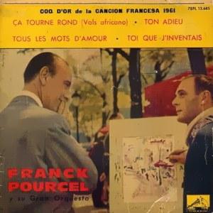 Pourcel, Franck - La Voz De Su Amo (EMI)7EPL 13.685