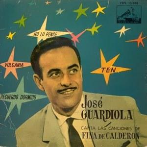 Guardiola, José - La Voz De Su Amo (EMI)7EPL 13.698