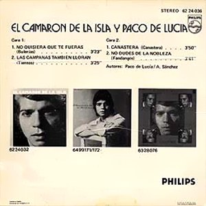 Camarón De La Isla, El - Philips62 24 036