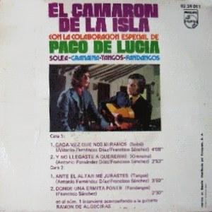 Camarón De La Isla, El - Philips62 24 011