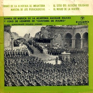 Banda De Música De La Academia Auxiliar Militar - ColumbiaECGE 71101
