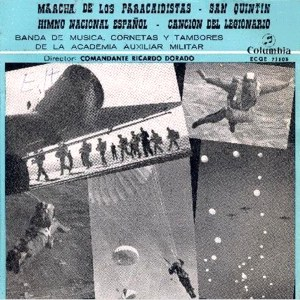 Banda De Música De La Academia Auxiliar Militar - ColumbiaECGE 71103