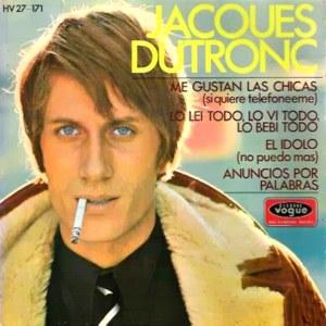 Dutronc, Jacques - HispavoxHV 27-171