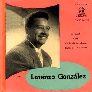 González, Lorenzo - Odeon (EMI)DSOE 16.143
