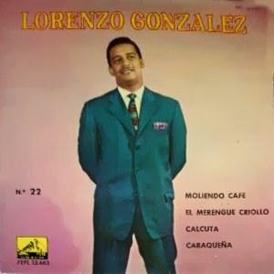 González, Lorenzo - La Voz De Su Amo (EMI)7EPL 13.663