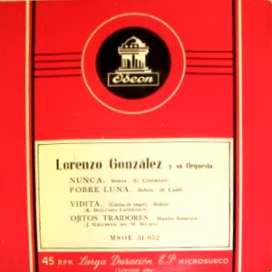 Lorenzo González - Odeon (EMI)MSOE 31.052