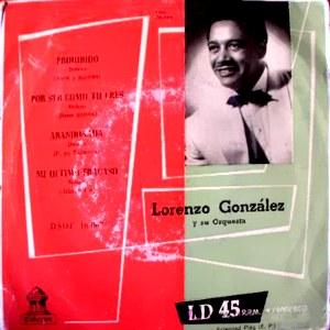 González, Lorenzo - Odeon (EMI)DSOE 16.195