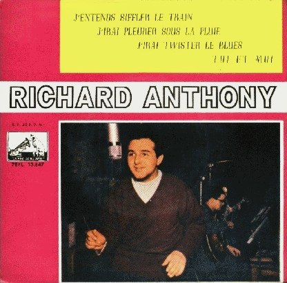 Anthony, Richard - La Voz De Su Amo (EMI) 7EPL 13.847