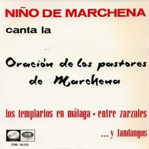 Marchena, Pepe - La Voz De Su Amo (EMI)7EPL 14.125