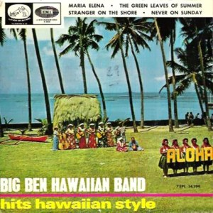 Big Ben Hawaiian Band - La Voz De Su Amo (EMI) 7EPL 14.194