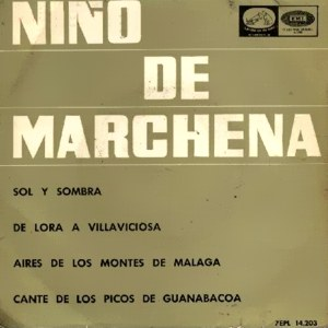Marchena, Pepe - La Voz De Su Amo (EMI)7EPL 14.203