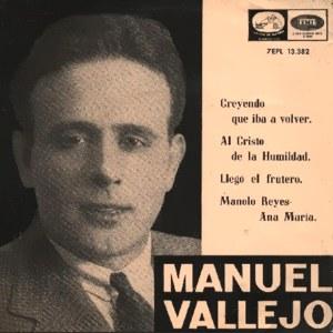 Vallejo, Manuel - La Voz De Su Amo (EMI)7EPL 13.382