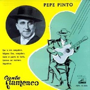 Pinto, Pepe - La Voz De Su Amo (EMI)7EPL 13.226