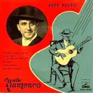 Pinto, Pepe - La Voz De Su Amo (EMI)7EPL 13.231