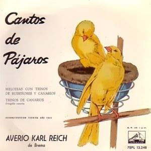 Cantos De Pájaros - La Voz De Su Amo (EMI)7EPL 13.248