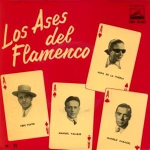 Los Ases Del Flamenco - La Voz De Su Amo (EMI)7EPL 13.361