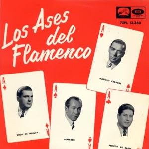 Los Ases Del Flamenco - La Voz De Su Amo (EMI)7EPL 13.363