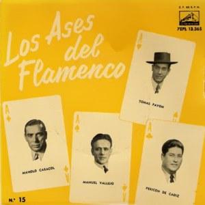 Los Ases Del Flamenco - La Voz De Su Amo (EMI)7EPL 13.365
