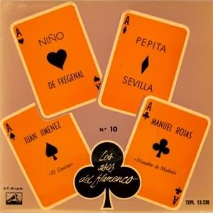 Los Ases Del Flamenco - La Voz De Su Amo (EMI)7EPL 13.238
