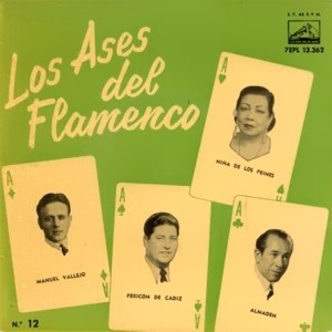 Los Ases Del Flamenco - La Voz De Su Amo (EMI)7EPL 13.362